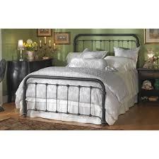 Bedrooms With Metal Beds Wesley Allen Iron Beds Queen Braden Metal Bed Wayside Furniture
