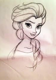 the girls would love this drawing pinterest elsa anna elsa