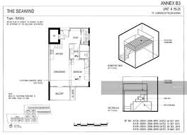 the seawind floor plan the seawind telok kurau 76 lorong m telok kurau 1 bedroom 646