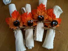 here s a way to make turkey napkin rings for napkin