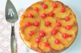 pineapple upside down cake receta