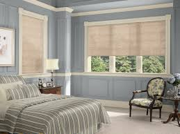 accessories gorgeous bedroom decoration using blue stripe roller