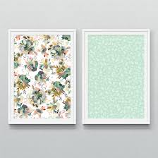 mint wrapping paper sided gift wrap mint leaves wrapping paper honey