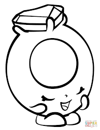 ring a rosie with hearts shopkin coloring page free printable