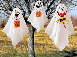 Decorations For Halloween Outdoor Halloween Decorating Ideas Kitchentoday