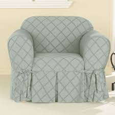 Oversized Accent Chairs Furniture Plaid Patterned Slipcover For Oversized Accent Chair