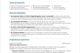 Technical Writing Resume Examples by Resume Experience Reentrycorps