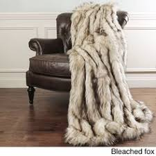 limited production design luxurious siberian link faux fur throw