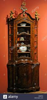 display cabinet gdansk 3rd quarter of the 18th cent pine wood
