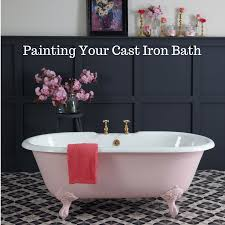 Can A Bathtub Be Painted by Painting Your Cast Iron Bath Cast Iron Bath Companycast Iron