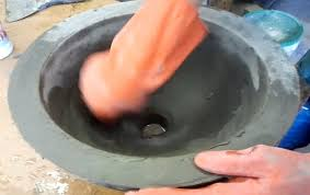Concrete Bathtub Mold Diy Make A Concrete Vessel Sink Youtube