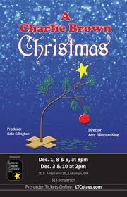 brown christmas poster lebanon theatre company buy tickets
