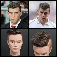 gareth bale hairstyle photos gareth bale inspired haircut tutorial thesalonguy youtube