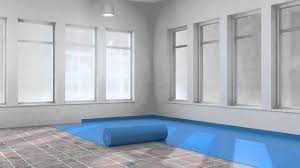 Acoustic Underlay For Laminate Flooring Jumpax Acoustic Underlayment Youtube