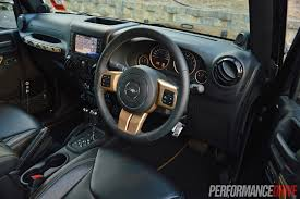 jeep rubicon inside jeep wrangler dragon edition review video performancedrive