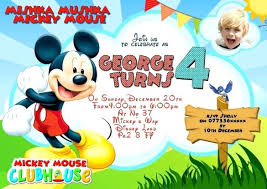 mickey mouse birthday invitations mickey mouse birthday invitations mickey mouse invitation templates