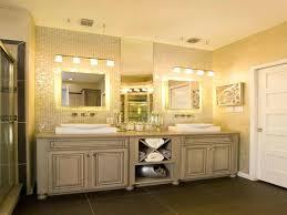 vanity recessed lighting placement bathroom light fixtures ideas