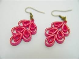 paper ear rings beautiful quilling paper earring designs methods earrings