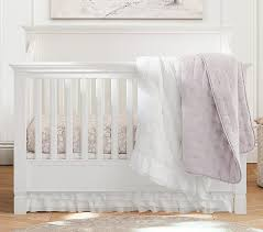 Bed Crib Larkin 4 In 1 Convertible Crib Pottery Barn