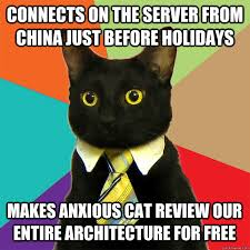Server Meme - connects on the server from china cat meme cat planet cat planet