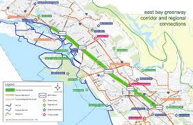 Bart Map Oakland by East Bay Greenway Concept U0026 Design Ca Dks Associates