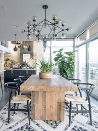 Reclaimed Wood Dining Room Furniture Best 25 Reclaimed Wood Dining Table Ideas On Pinterest Rustic