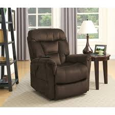 Leather Rocker Recliner Catnapper Deluxe Magnum Heat U0026 Massage Rocker Recliner Hayneedle