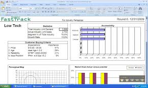 Demand Forecasting Excel Template by Capsim Build A Spreadsheet Of Demand And