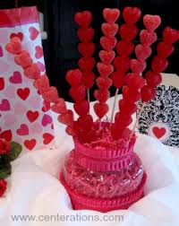 cheap valentines day decorations valentines day decorations gummy hearts and skewers yum