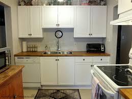 how to update white melamine kitchen cabinets memsaheb net