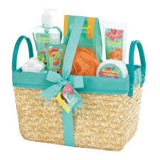 Happy Birthday Gift Baskets Body Care Gift Set Coconut Lime Luxury Spa Gift Basket For Mom Ebay