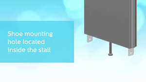 Stainless Steel Partition New Pilaster Shoe For Stainless Steel And Powder Coated Partitions
