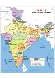 Map Of India And Nepal by Essay On India It U0027s People And Environment
