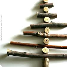 decorations made of twigs tree made of sticks