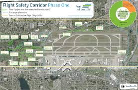 Map Of Seattle Airport by Tree Removal Near Sea Tac Airport Being Required By The Feds Not