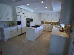 Mobile Home Kitchen Makeover - coto de caza u2013 transitional u shaped design build white cabinets