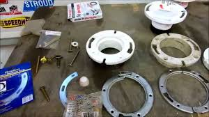 toilet flange repair tips tricks youtube