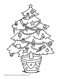 christmas tree coloring pages live christmas tree coloring sheet