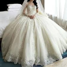 Sale Wedding Dresses Aliexpress Com Buy Sale Dubai Crystal Flowers Ball Gown