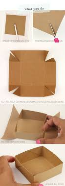 How To Make A Box With Paper - how to make easy gift box at home photos design