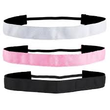 sports headbands suddora non slip sports headband thin athletic hair bands