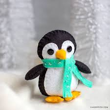Felt Penguin Christmas Ornament Patterns - 345 best felt images on pinterest felt crafts felt ornaments
