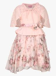 buy cutecumber peach party dress for kids online india best