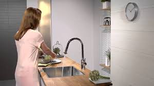 hansgrohe talis s2 variarc kitchen mixer pull out spray youtube
