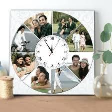 personalized wedding clocks customizable wall clocks customizable wall clocks promotional slim