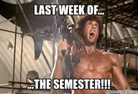 of semester