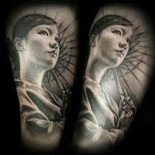 American Flag Tattoos Black And Grey David Vega Certified Artist