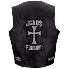 discount leather motorcycle jackets amazon com mens jesus forever black leather vest motorcycle