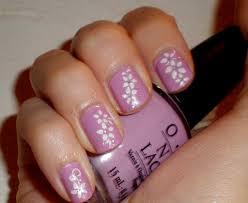 easy nail art bow and polka dot design on short nails nail art