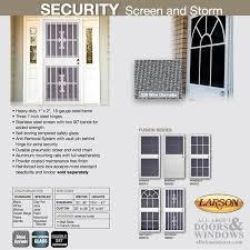 Steel Interior Security Doors Door Larson Somerset Steel Frame Self Storing